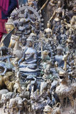 Nepalese Brass and Copper Statues Stock Image