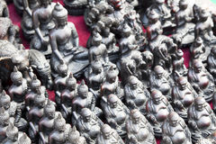 Nepalese Buddha Statues Stock Images