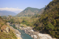 Nepalese Countryside Stock Photos
