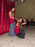 Nepalese Dancers Stock Images