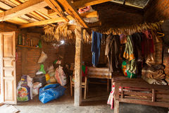 Nepalese farmhouse Royalty Free Stock Images