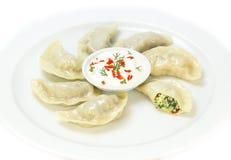 Nepalese food momo Stock Photos