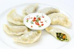 Nepalese food momo Royalty Free Stock Photo