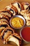 Nepalese Fried Momos Stock Image