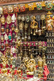 Nepalese giftshop Stock Photo