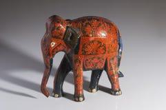 Nepalese handicraft elephant Royalty Free Stock Photography