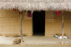 Nepalese hut Royalty Free Stock Images