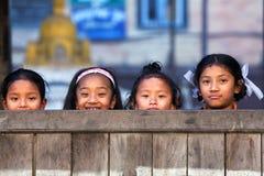 Nepalese kinderen Stock Foto's