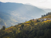 Nepalese landscape Stock Photography