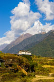 Nepalese landscape Stock Images