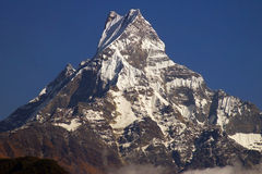 Nepalese Landscape With Machhapuchhre 6993m Stock Images