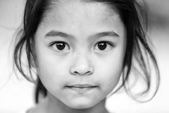 Nepalese little girl Royalty Free Stock Photography