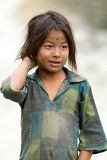 Nepalese little girl Royalty Free Stock Images