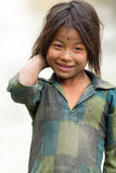 Nepalese little girl Stock Image