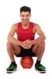 Nepalese man basketball player Stock Images