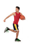Nepalese man basketball player Royalty Free Stock Photography