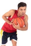 Nepalese man basketball player Royalty Free Stock Photos
