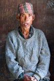 Nepalese man in Bhaktapur Stock Photos