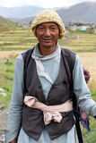 Nepalese man in Dolpo, Nepal Stock Image