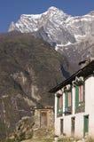 Nepalese Mountain Village Royalty Free Stock Image
