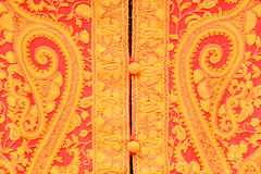 Nepalese national fabric Stock Photo