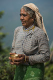 Nepalese peasant woman Royalty Free Stock Photography