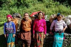 Nepalese Porters Stock Image