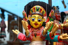 Nepalese puppets Royalty Free Stock Image