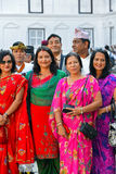 Nepalese Royal family, high society members Stock Photo