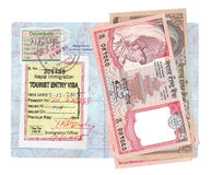 Nepalese Rupees Stock Image