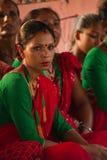 Nepalese singers in Chitwan, Nepal Stock Image