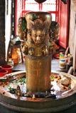 nepalese skulptur Arkivbilder