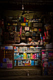 Nepalese stationary shop, Kathmandu, Nepal Stock Images
