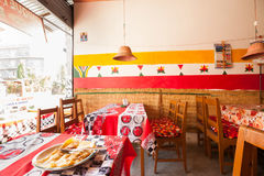 Nepalese street cafe Royalty Free Stock Photography