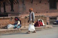Nepalese streetscene Royalty Free Stock Photo