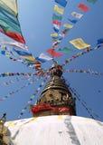 Nepalese stupa Royalty Free Stock Image