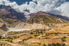 Nepalese valley Royalty Free Stock Photography