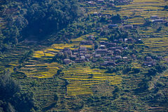 Nepalese village Stock Images