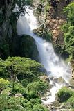 Nepalese Waterfall. Waterfall near a small village in Nepal Royalty Free Stock Images