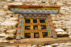 Nepalese window Stock Images