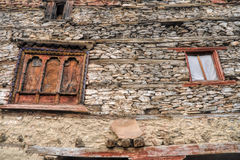 Nepalese window Royalty Free Stock Photos