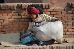 Nepalese woman Stock Image