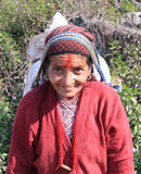 Nepalese woman Stock Images