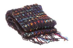 Nepalese Woolen Scarf Isolated Stock Images