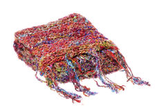 Nepalese Woolen Scarf Isolated Stock Photography
