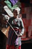 Nepalesische Frau Lizenzfreie Stockbilder