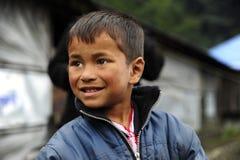 Nepalesische Kinder Lizenzfreie Stockfotos
