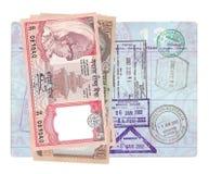 Nepalesische Rupie Lizenzfreie Stockfotografie