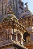Nepalesischer Tempel auf Quadrat Bhaktapur Durbar Lizenzfreie Stockfotos