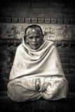 Nepalesisk kvinna, Durbar fyrkant, Katmandu, Nepal Royaltyfri Foto
